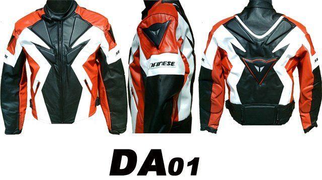 Мотокуртка Dainese DA 01 с защитой. Натуральная кожа