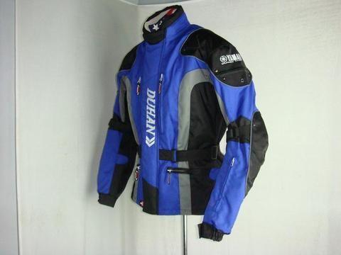 Мотокуртка туристическая DUHAN 023 синий/черный