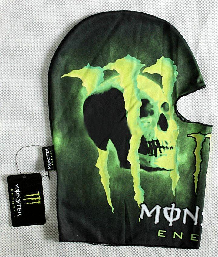 Подшлемник Monster Energy Skull