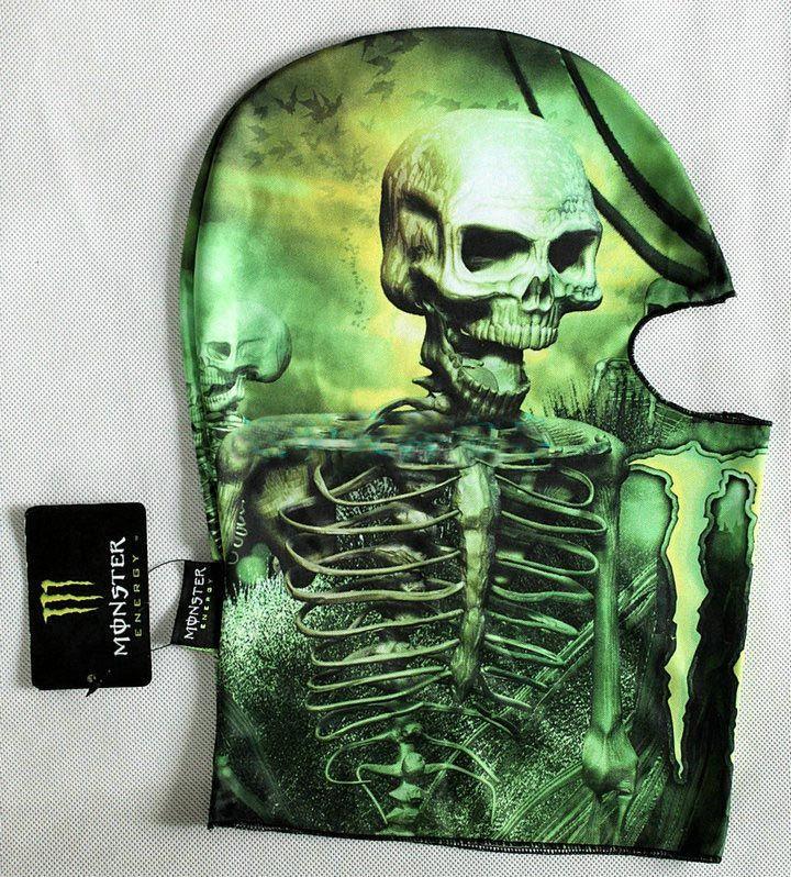 Подшлемник Monster Energy Skull 3