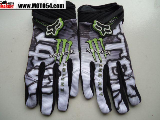 Перчатки Fox Monster Energy