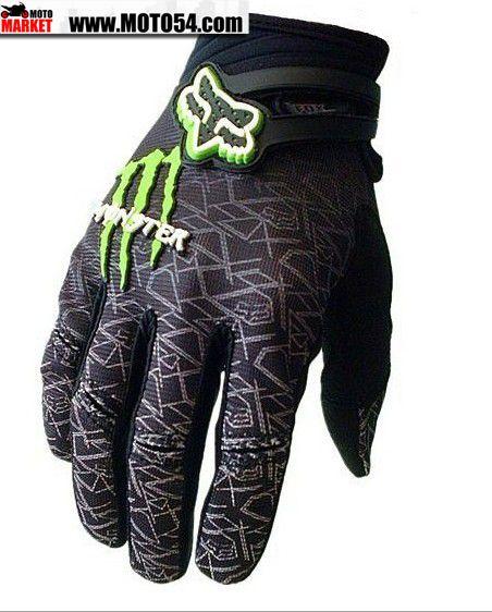 Перчатки Fox Monster Energy Black