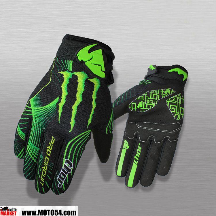 Перчатки Thor Monster Energy 1