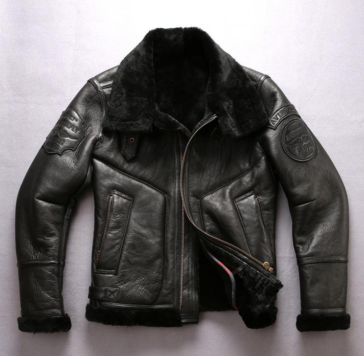 Куртка классическая теплая AVIREXFLY AV-8001