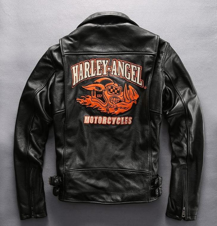 Мотокуртка Harley Davidson кожаная Harley Angel Boar HA-38