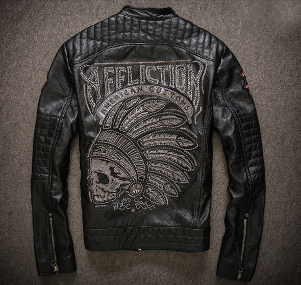 Мотокуртка Affliction American Castoms Black